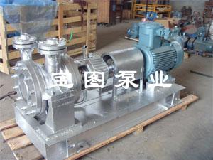 AY单,两级高温离心油泵