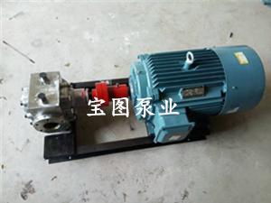 BBW不锈钢欧宝体育培训齿轮泵